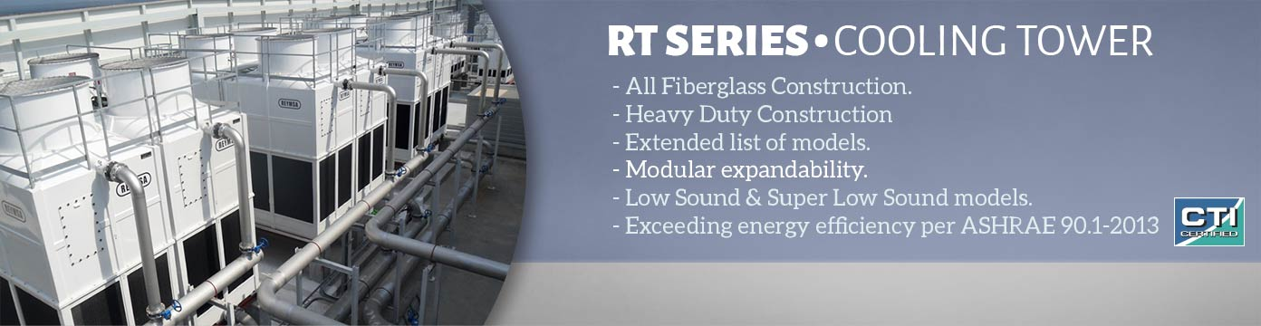 RT Series Cooling Tower Banner